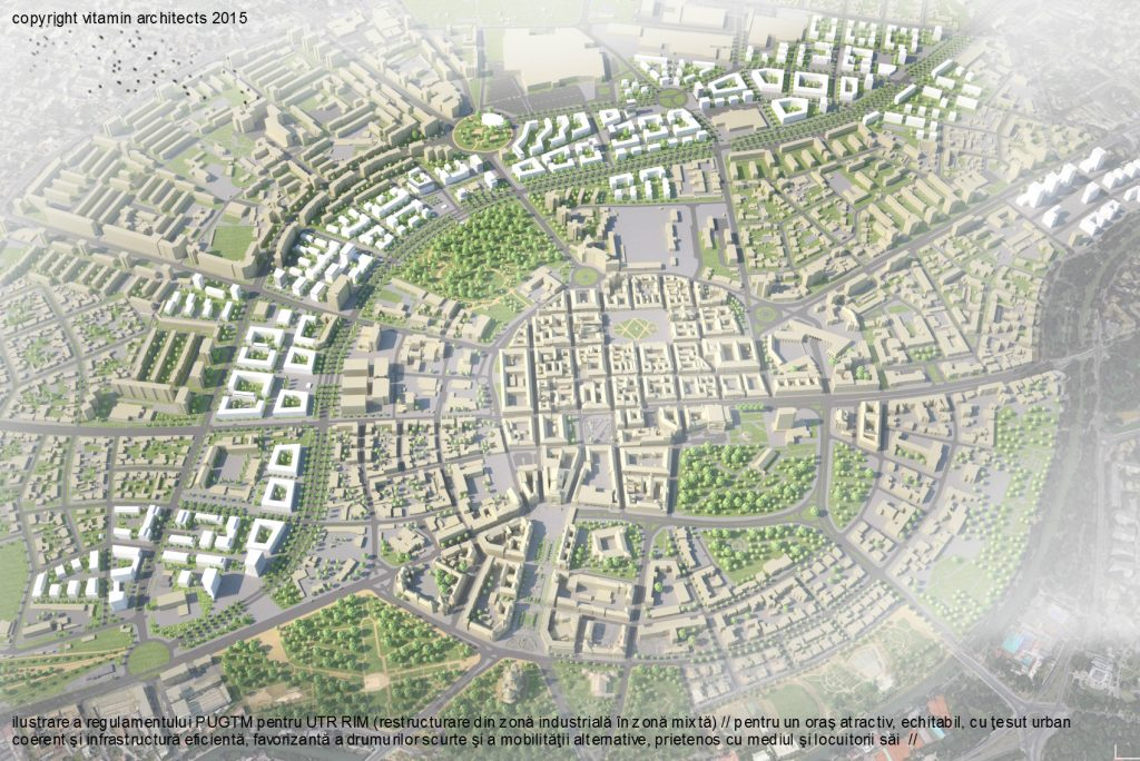 Land Use Plan Timisoara | project